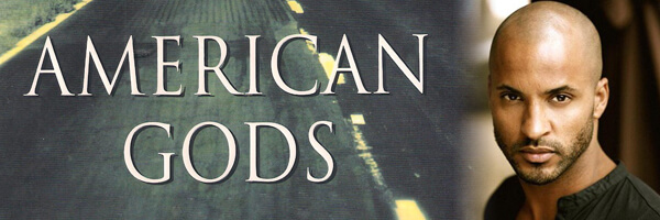 "Ricky Whittle cast as Shadow Moon in ""American Gods"""
