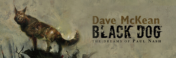 Dave McKean's Upcoming Original Graphic Novel