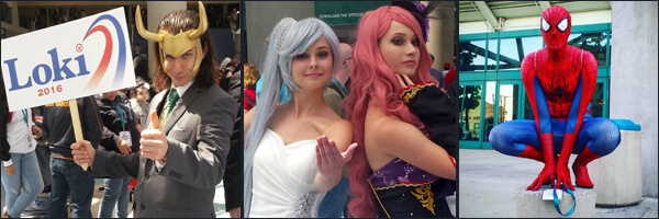 WonderCon 2016 – Cosplay Gallery 2
