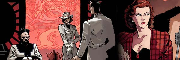 "Matt Wagner writes and draws all-new five-issue ""Shadow"" series: ""The Death of Margo Lane"""