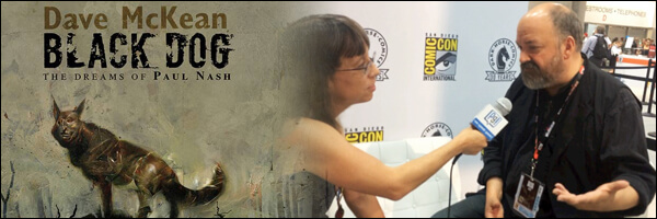 SDCC 2016 – An Interview with Dave McKean