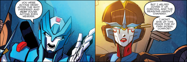 Review – Transformers: Till All Are One #3