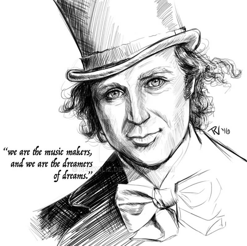 Gene Wilder by beckaliz on deviantart