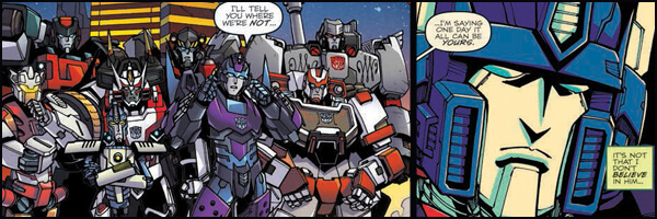 Review and Preview – Lost Light #3 and Optimus Prime #4