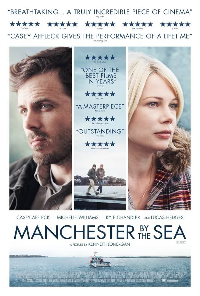 Manchester By the Sea UK Poster