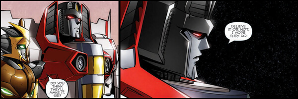 Review – Transformers Till All Are One #7