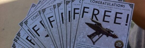 [Comic Con 2011] Free TF2 Weapon Codes