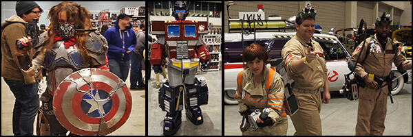 North Carolina Comicon: Oak City – Photo Gallery
