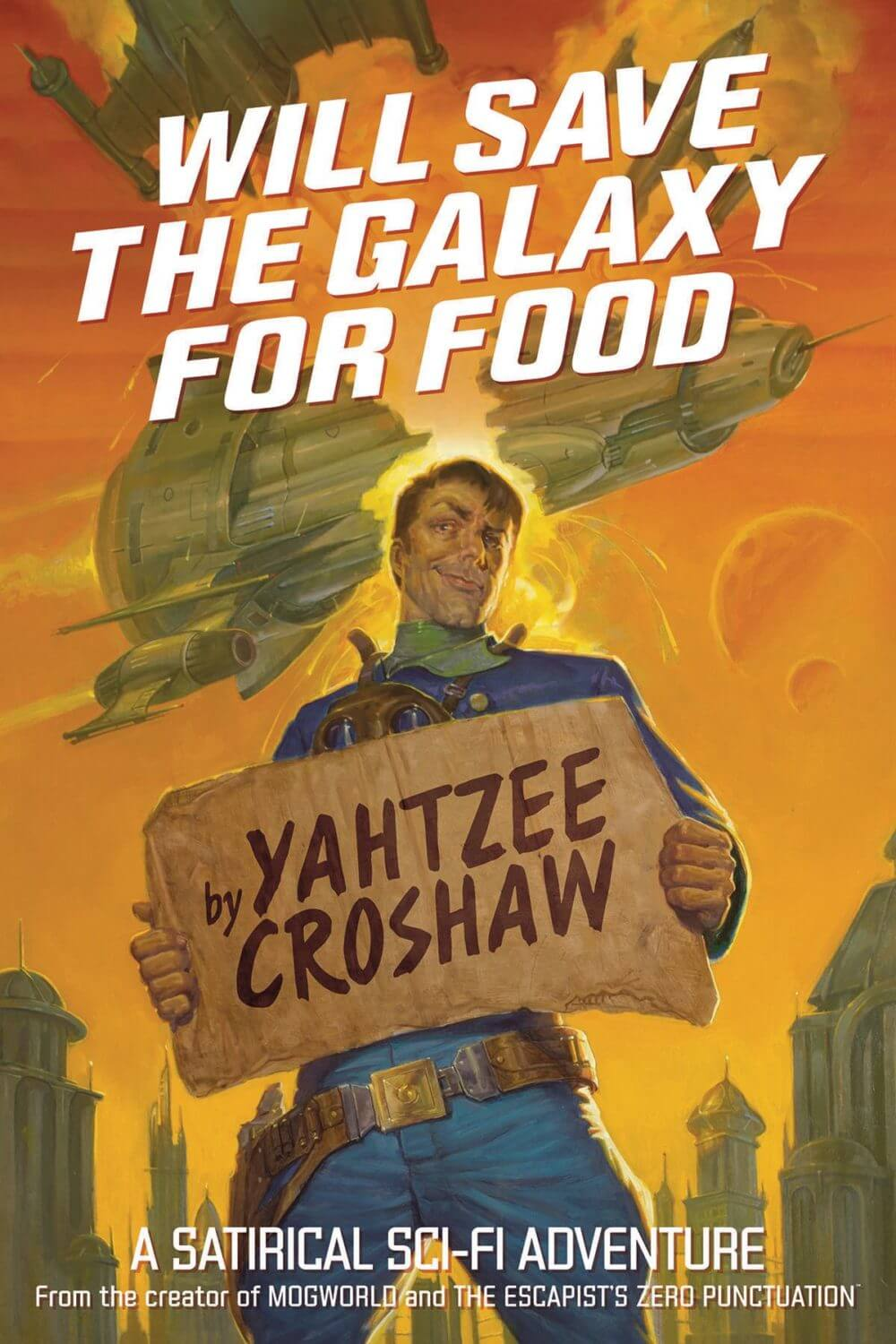 Will Save the Galaxy For Food - cover