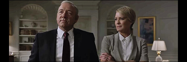 Newest Trailer for House of Cards is here and…now I'm hiding under the bed…
