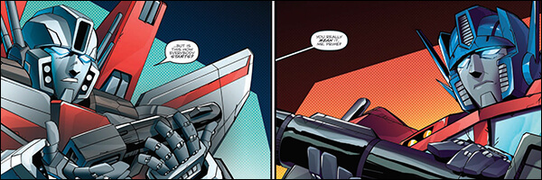 Review – Optimus Prime #7