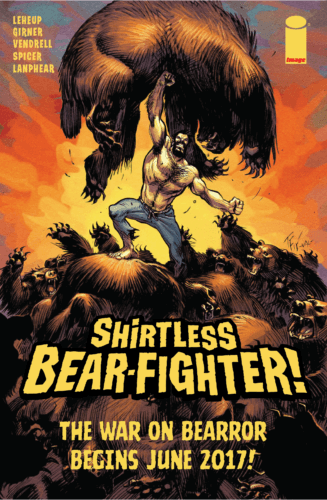 Shirtless Bear Fighter Cover