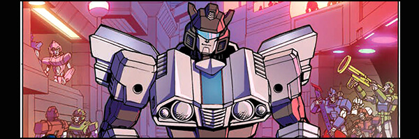 Preview and Review – Optimus Prime #8