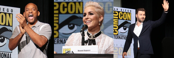 "SDCC 2017 – Photo Gallery – Netflix debuts ""Bright"" in Hall H, with cast and creators"