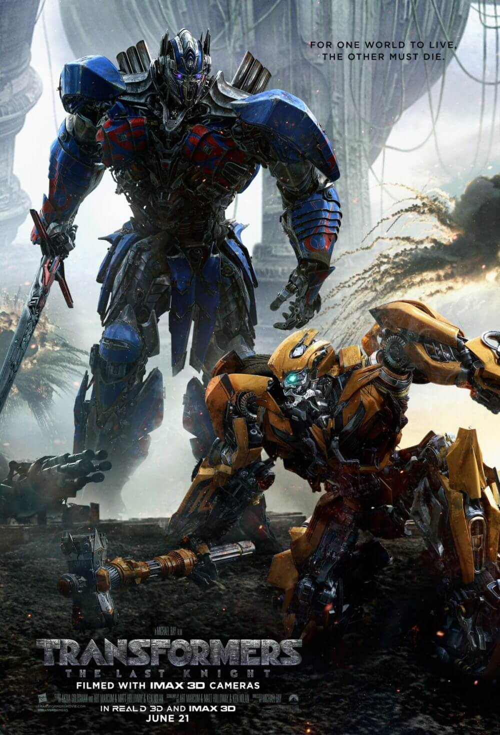 Transformers - the Last Knight Poster