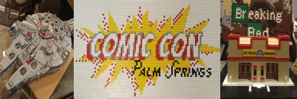 Comic Con Palm Springs 2017: Lego Room Photo Gallery