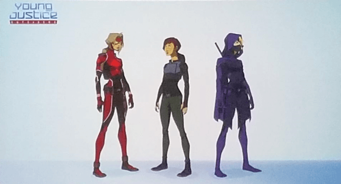 Young Justice: Outsiders SDCC 2017 Panel   Pixelated Geek Young Justice Season 3 Characters List