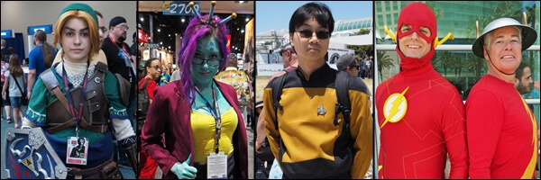 SDCC 2017- The lost cosplay gallery