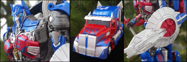 Photo Gallery – Hasbro SDCC Exclusive: Voyager Class Optimus Prime