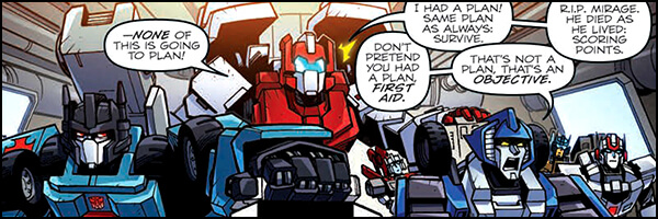 Review – Transformers Lost Light #10