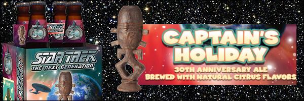 "Star Trek ""Captain's Holiday"" Craft Beer Released"