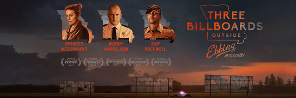 Review – Three Billboards Outside Ebbing Missouri