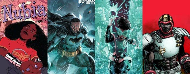 DC black characters and creators